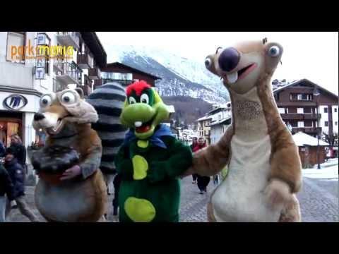 Gardaland: Ghianda da record a Cortina d'Ampezzo