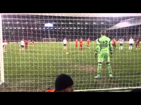 Gerard penalty Liverpool Fulham 3-2