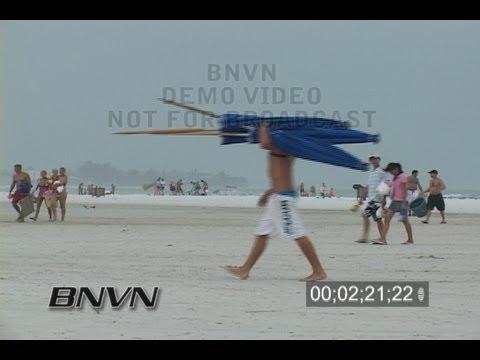 7/23/2006 Sarasota, FL Siesta Key Beach Video