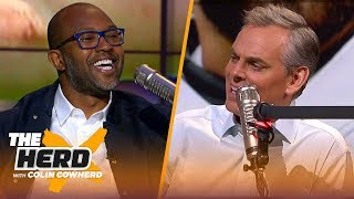 Torry Holt thinks Rams don't have balance on their offense, talks Baker Mayfield | NFL | THE HERD