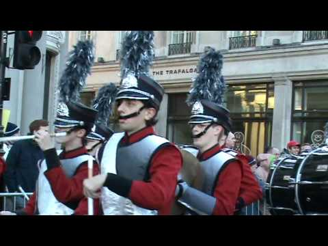New Years Day Parade 2010 in London - Blue Valley West High School Marching Band 2 (USA)
