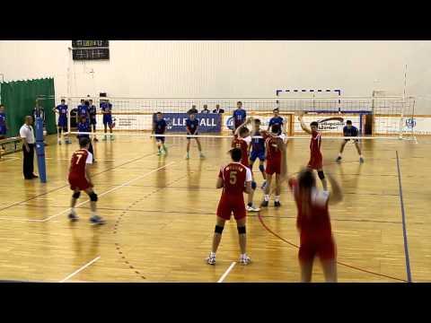 Волейбол. Юноши 1999 г.р. Финал России 2014. Бауманская (Москва-21)