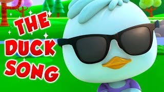 The Duck Song | Funny Cartoon Videos | Songs For Children