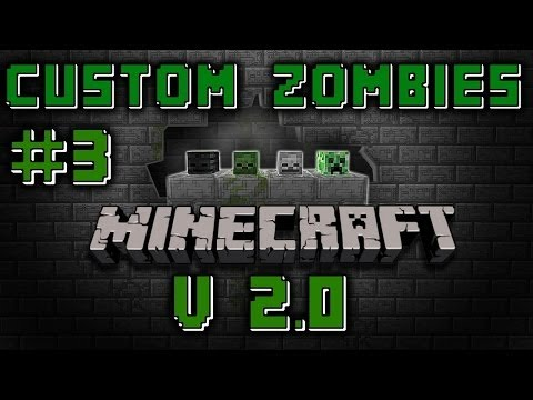 "Pt 3 Custom Zombies ""MINECRAFT"" V 2.0 ""Buyable Ending"""