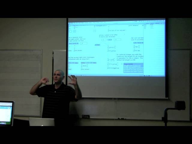 Working with Lists in MaxMSP: Sprintf and ZL