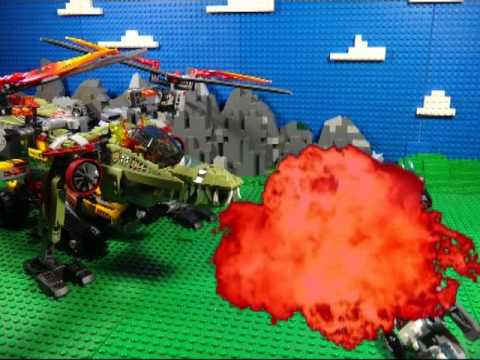 LEGO LEGENDS OF CHIMA FIRE VS ICE 70227  KING CROMINUS RESCUE