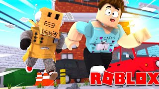 I RUINED ANOTHER YOUTUBERS RECORDING! Roblox Robot Gaming messes up a youtuber!