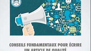video www.redactrice-web.ma - Rédacteur web, Rédaction web et création de contenu seo. Cette vidéo est une animation de mon article de blog