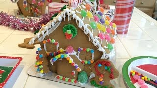 Gingerbread House Making with the Kids!