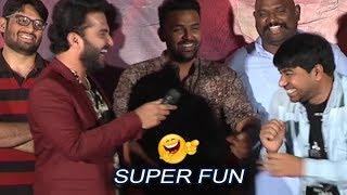 EE Nagaraniki Emaindi fame Koushik SUPER Fun with Hero Vishwaksen | Falaknuma Das Teaser Launch