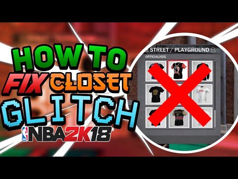 HOW TO FIX MYPLAYER CLOSET GLITCH AFTER PATCH 4|FULL TUTORIAL PS4 AND XBOX ONE NBA 2K18|MUST WATCH