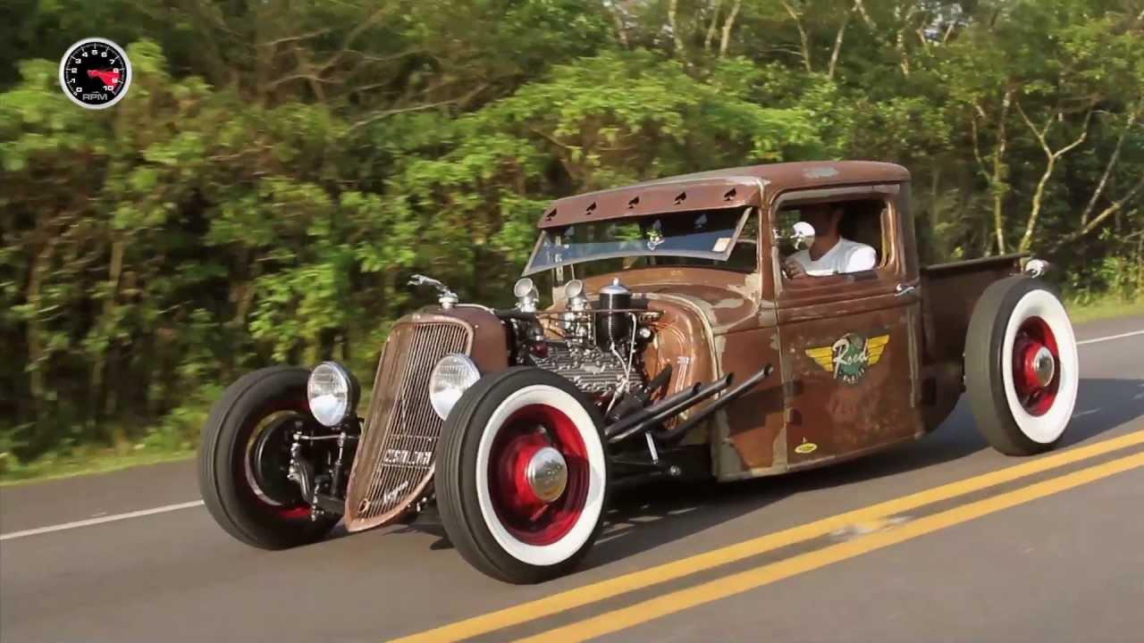 Ford 1933 Rat Rod # FullPower 112 - YouTube
