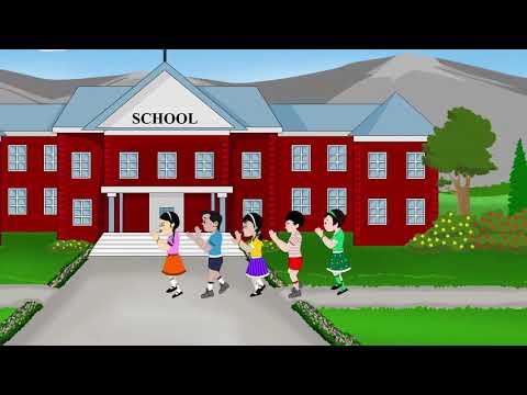 Goosey-Goosey Gander   Popular English Children Rhymes   Nursery Rhymes   Sujatha