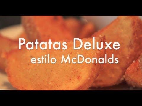 Patatas Deluxe estilo McDonalds - Papas Gajo - Recetas de cocina