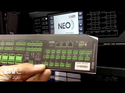 ISE 2017: LDA Audio Tech Demuestran Sistema de Evacuacion por VOZ Audioevacuacion LDA Neo