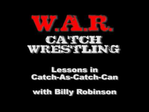 Billy Robinson: W.A.R. Catch Wrestling Image 1