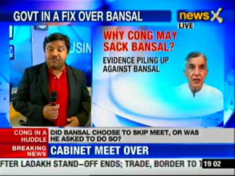 News X: Pawan Kumar Bansal skips the cabinet meet