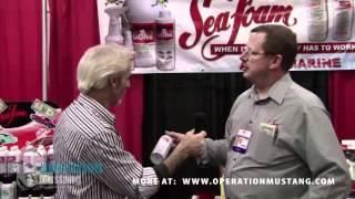 The Doc talks to SeaFoam at AutoWares Show