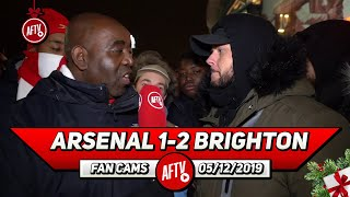 Arsenal 1-2 Brighton | Freddie Is Out Of His Depth & Must Go Before He Ruins His Legacy! (DT)