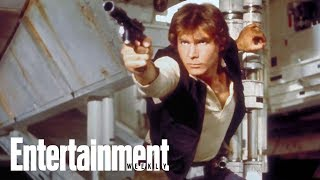Harrison Ford's Advice To Young Han Solo   Story Behind The Story   Entertainment Weekly