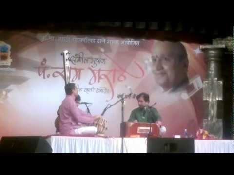 Dr. Dilip Gaitonde - Brindavani Sarang slower tempo in Jhaptaal...
