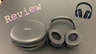 iTeknic Over Ear Bluetooth Headphones Review 2019 - Best Budget Headphones!