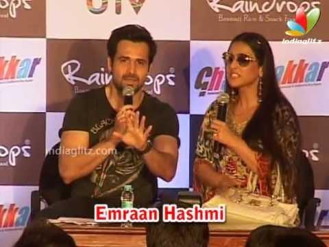Vidya Emraan Promote Ghanchakkar In Rainy Style | Bollywood...