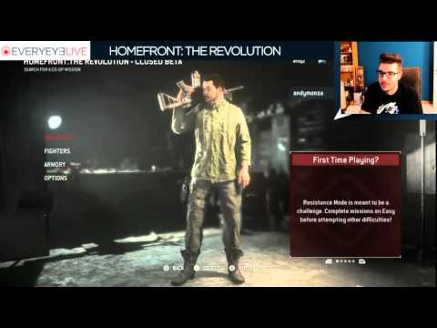 Homefront: The Revolution - Everyeye.it Live Streaming