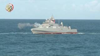 بالفيديو.. تشكيلات بحرية مصرية بحرينية في ختام التدريب المشترك