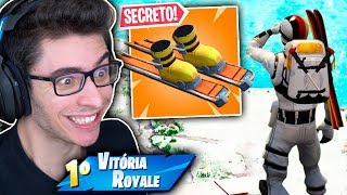 DESCOBRI TUDO? NOVO VEICULO SNOWBOARD NA NOVA TEMPORADA DO FORTNITE!?