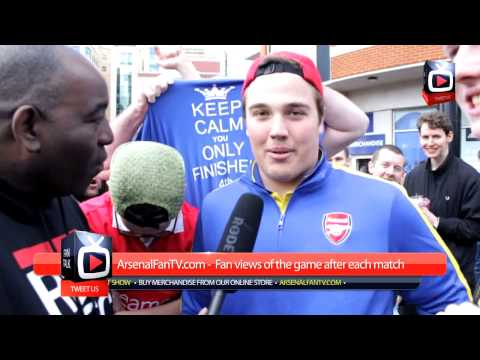 Chelsea 6 Arsenal 0 - Its A Disgrace