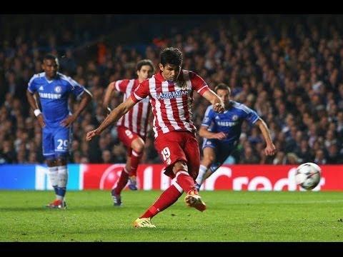 Chelsea vs Atletico Madrid (UEFA Champions League Semi-finals 2014)