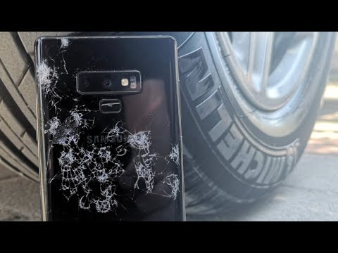 Yine Acımadık! - Galaxy Note 9'un Üstünden Porsche İle Geçtik!