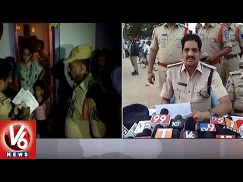 Police Cordon & Search In Yadagiri Gutta, Seizes 15 Vehicles & Arrests 7 Rowdy Sheeters  | V6 News