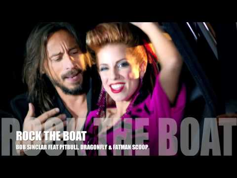 Rock the Boat PR with Pitbull and Bob Sinclar in Cannes, France NRJ Awards 2012