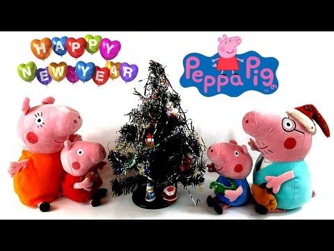 Свинка Пеппа украшает Новогоднюю елочку Мультик для детей