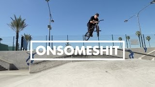 BMX - STEVIE CHURCHILL & BRANDON BEGIN SKATEPARK VIDEO