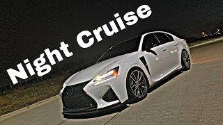 Lexus GSF Night Drive VLog With Bulli KID