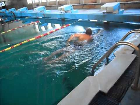 Swimming 50 Meters And Subtracting The Weight Of The Pool Youtube
