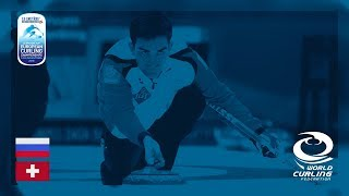 Russia v Switzerland Men Round Robin Le Gruyre AOP European Curling Championships 2018