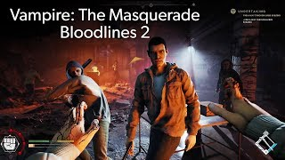 Vampire: The Masquerade - Bloodlines 2 PC gameplay at E3 2019