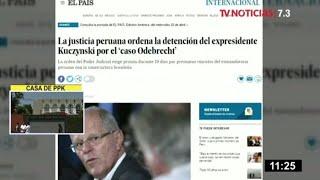 Pedro Pablo Kuczynski: medios internacionales informan sobre detención preliminar
