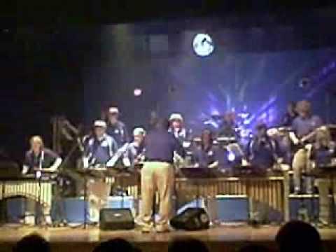 "Magnolia High School (WV) Percussion Ensemble 2009  ""Don't Stop Believin'"""