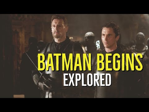 BATMAN BEGINS (2005) Story + Behind The Scenes Explored