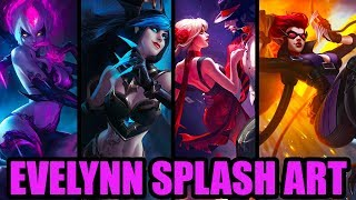 NEW EVELYNN REWORK SPLASH ART   League of Legends Evelynn Login Screen