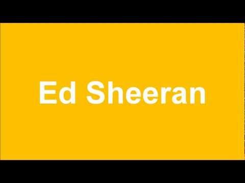 Ed Sheeran - Lego House (by Hitlijsten)