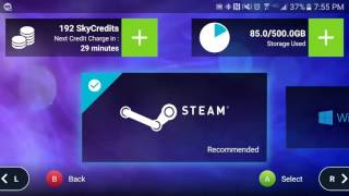 How to Use the LiquidSky (PC GAMES ON ANDROID WITHOUT PC)