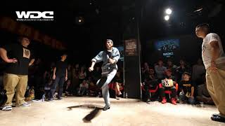 hi10tsume works(のんG レイチェールズ) vs Mo'Higher(HOAN JAYGEE) BEST16 POP WDC 2017 FINAL