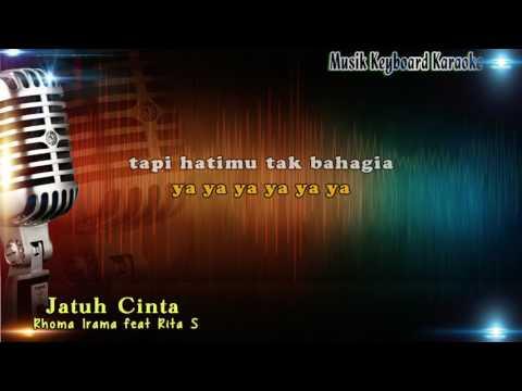 Rhoma Irama feat Rita Sugiarto - Jatuh Cinta Karaoke Tanpa Vokal