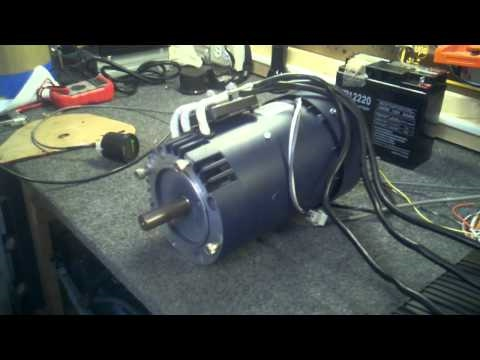 Ac 15 electric motor bench test how to make do everything for Electric motor test bench